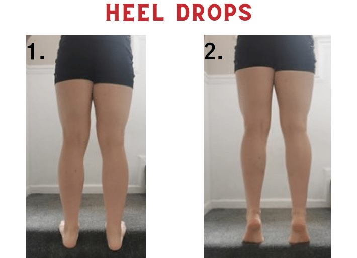 Exercises to prevent and treat shin splints | Common injuries for triathletes and runners | Heel drops