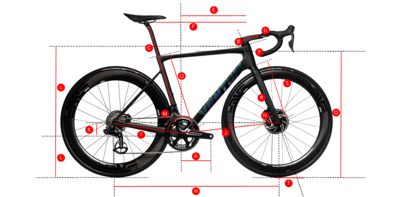 Bike fit and frame size for the Ventum NS1 road bike