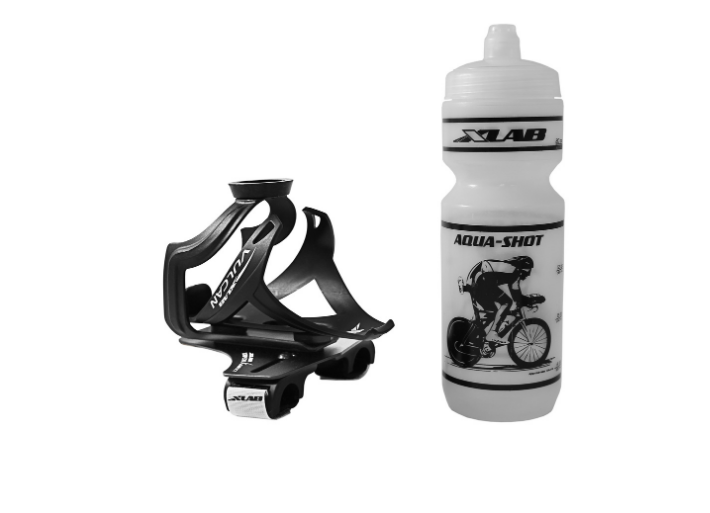 XLab torpedo Kompact bike water bottle and holder