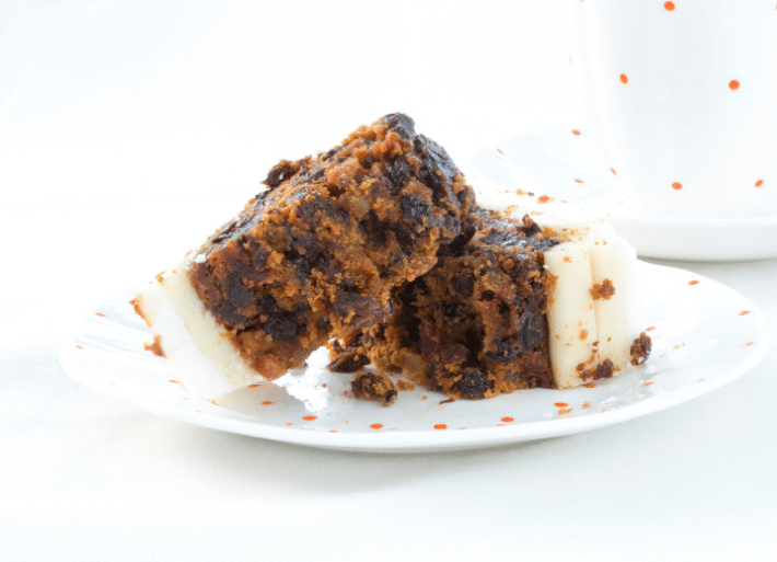 Is it ok for triathletes to eat Christmas Cake?