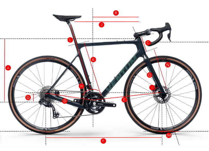 Ventum GS1 Gravel Bike | Geometry, Size Chart and Fit