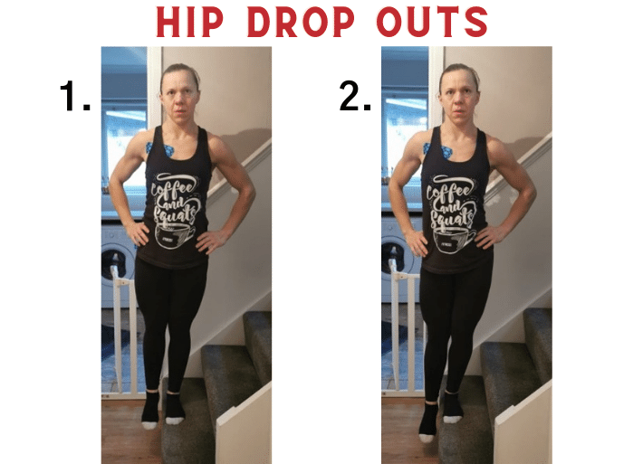 How to treat and prevent ITB syndrome | Hip Drop out exercise