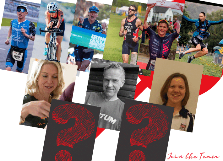Neuff Red team of pro triathletes, sport experts and ambassadors