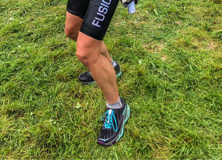 Greeper Laces used for triathlon racing by Nikki Bartlett
