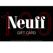 £100 Gift Card for triathlon and endurance products at Neuff Red
