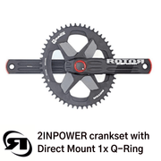 Rotor power meter | 2INPower Direct Mount | complete set up with 1x single Q chainring