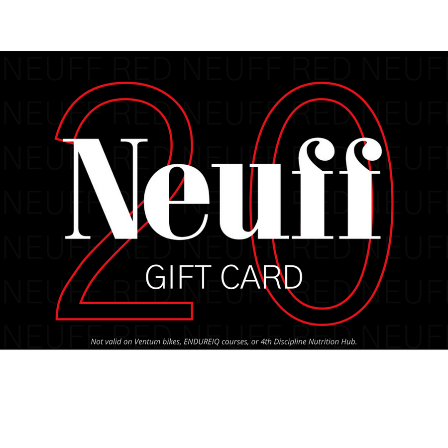 £20 Gift Card for triathlon and endurance products at Neuff Red