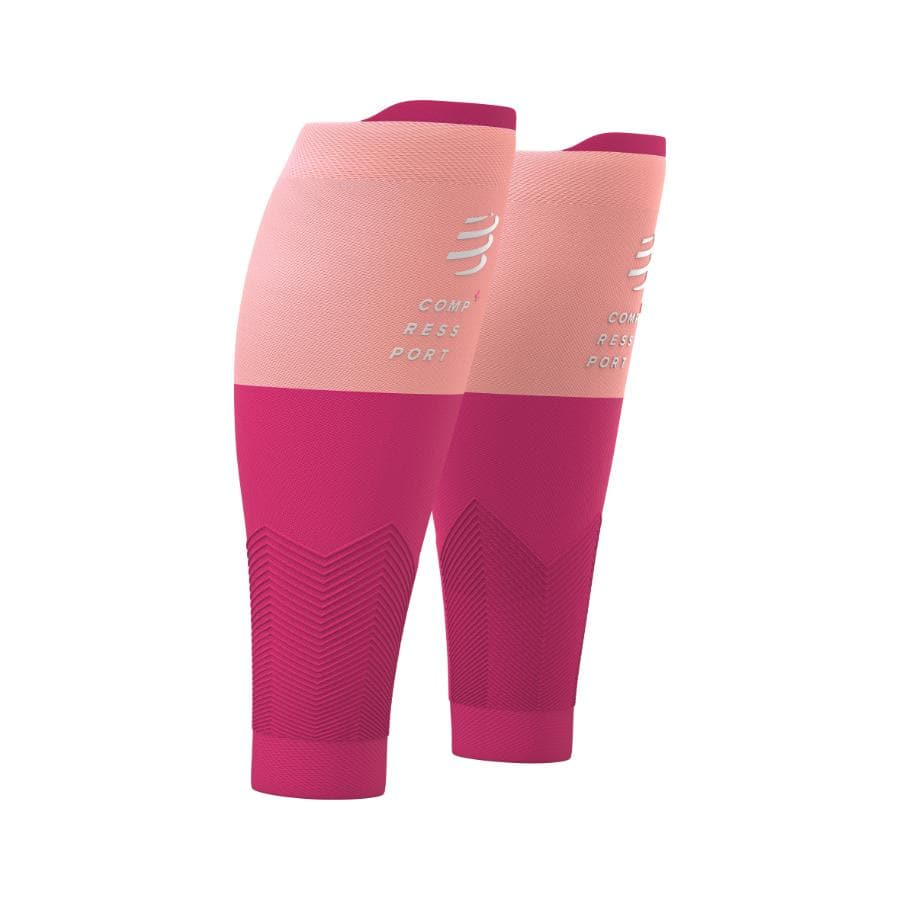 CompresSport R2V2 Calf Guards Pink