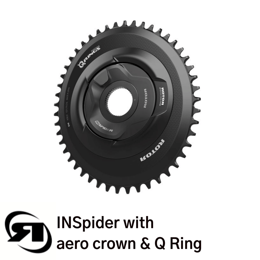 Rotor power meter | INSpider with aero crown & Q ring