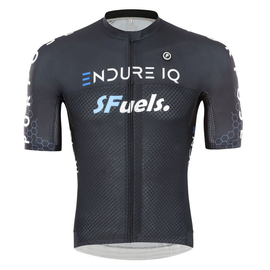 Purpose Elite Racing Cycling Jersey (Black)