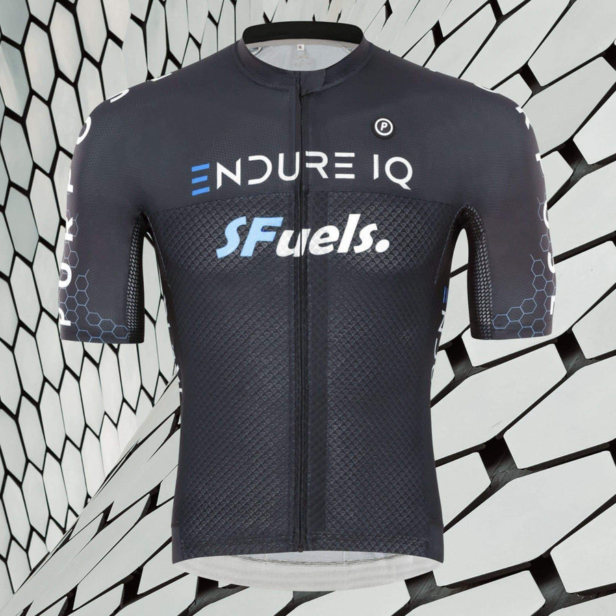 Exclusive Purpose Elite Racing Cycling Jersey (Black)