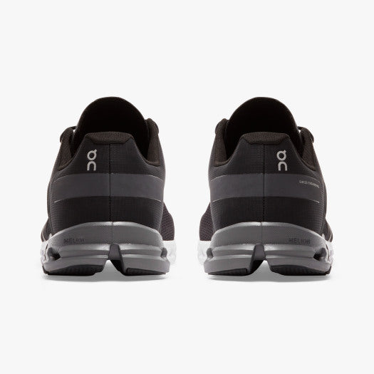 On Cloudflow 2.0 Men's Running Trainer | Black / Asphalt