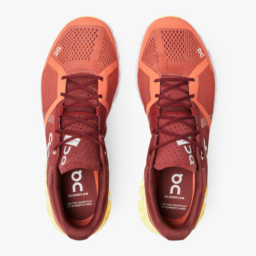 On Cloudflow 2.0 Men's Running Trainer | Rust / Limelight