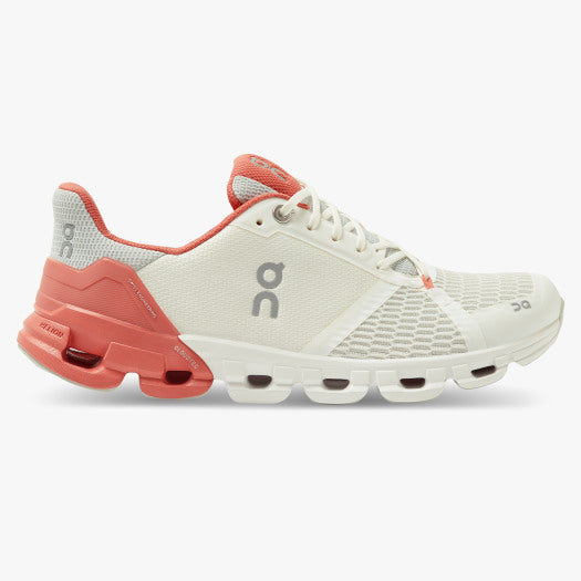 On Cloudflyer 3.0 Women's performance running trainer | White / Coral