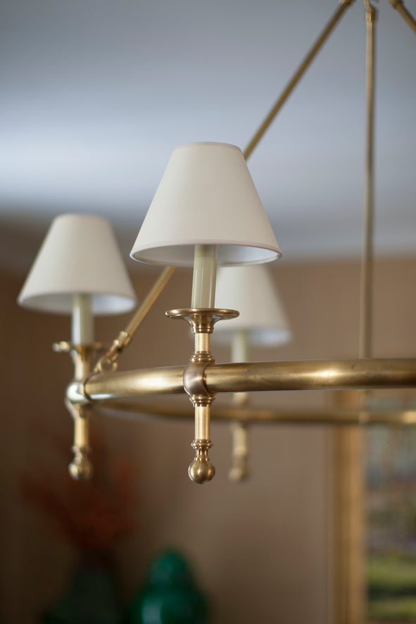 Highland Chandelier, Brass