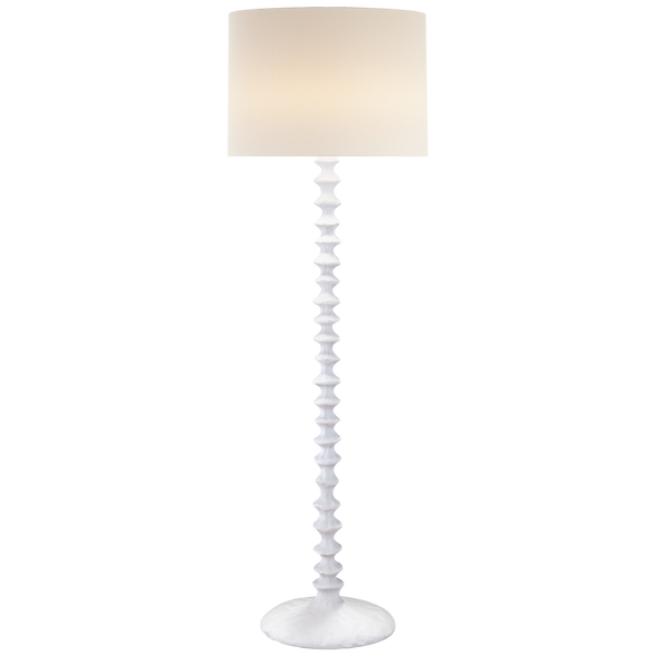 Bay Beach Floor Lamp, White