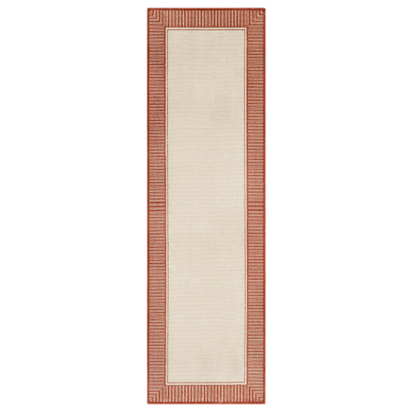 Sorrento Indoor Outdoor Rug, Coral