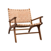 Crosby Chair, Woven Leather