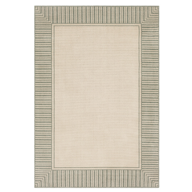 Sorrento Indoor Outdoor Rug, Garden Green