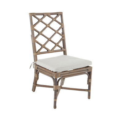 Carlsbad Chair, Natural Rattan