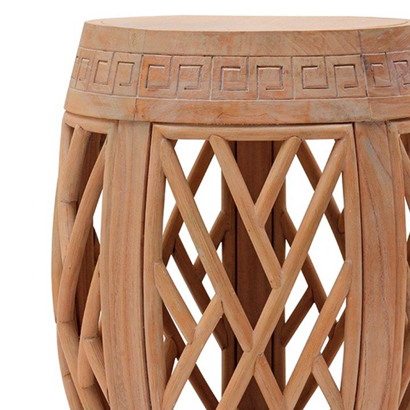 Horizon Side Table, Natural