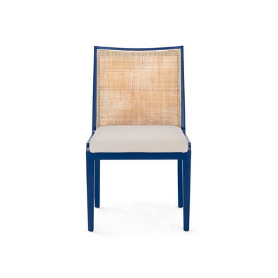Chatham Cane Chair, Navy