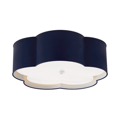 Hudson Flush Mount, Navy