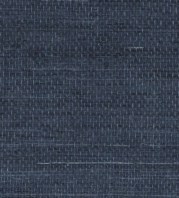 grasscloth wallpaper in navy blue