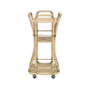Summerhill Rattan Bar Cart