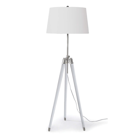 Tribeca Floor Lamp, Nickel