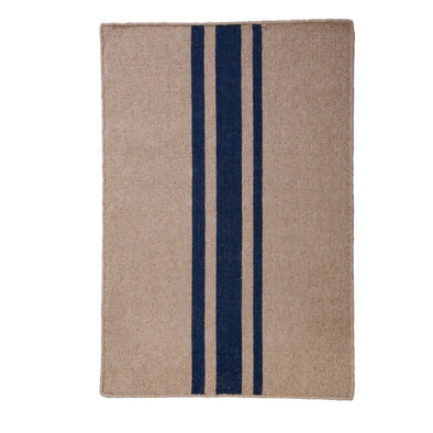 Tucker Stripe Rug, Navy