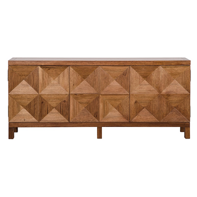 Yaletown Long Sideboard, Rich Walnut