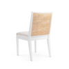 Chatham Cane Chair, White
