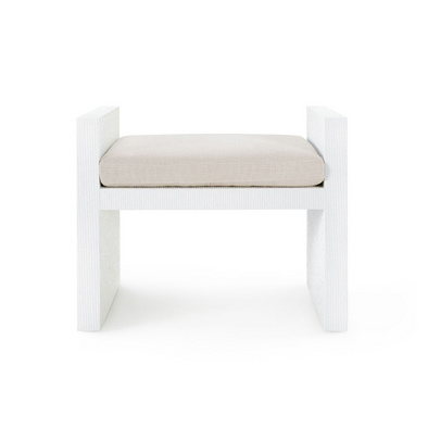 Miami Bench, White