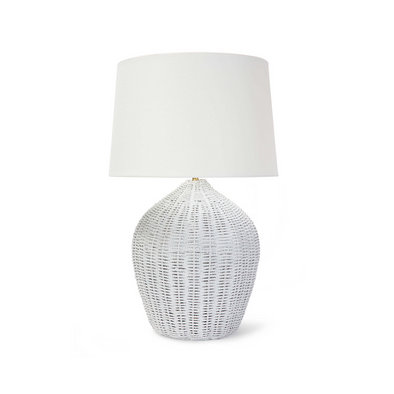 Emerald Bay Table Lamp, White