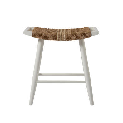 Abaca Stripe Counter Stool
