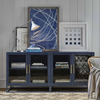 Somerset Low Cabinet, Deep Harbor Blue