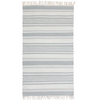 Clover Handwoven Rug, Soft Blue