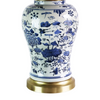Hand Painted Chinois Table Lamp