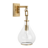 Cohasset Sconce, Brass
