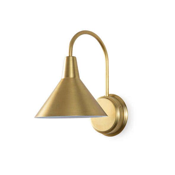 South Shore Sconce, Brass
