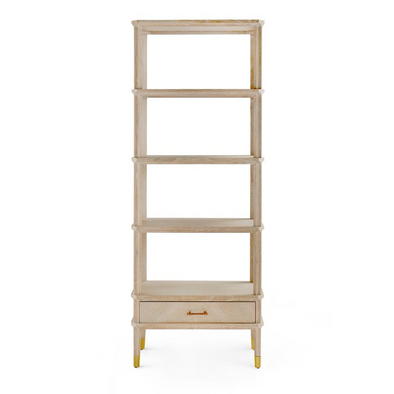 Fairmount Bookcase, Cerused Oak