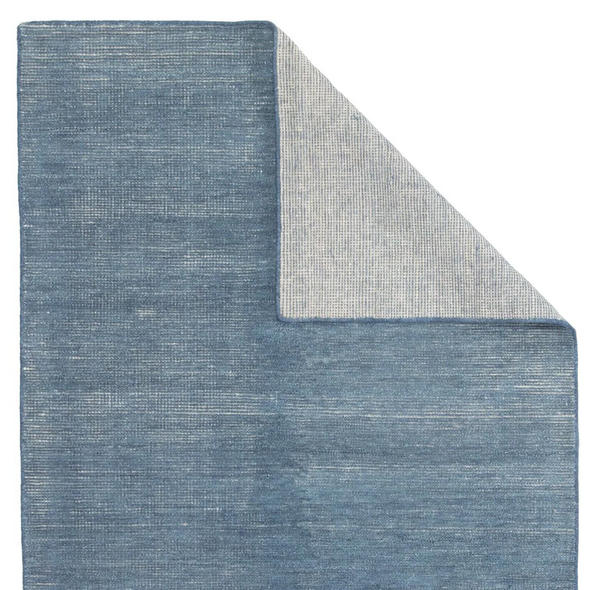 Traverse Hand Knotted Rug, Cove Blue