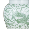 Dragon Temple Jar, Celadon Green