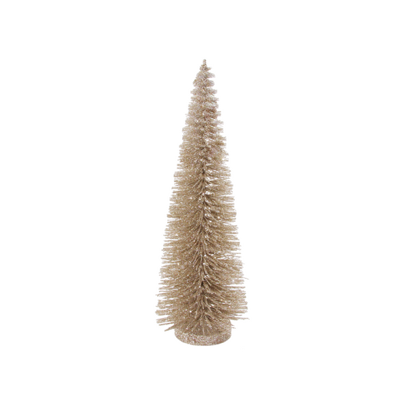 Champagne Bottle Brush Tree, 3 sizes.
