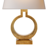 Ring Table Lamp, Brass