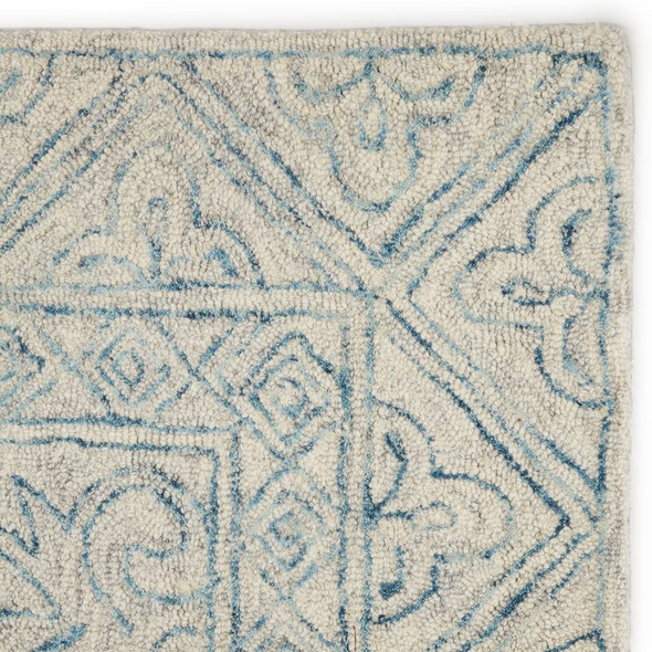 Grove Hand Tufted Rug, Blended Blue