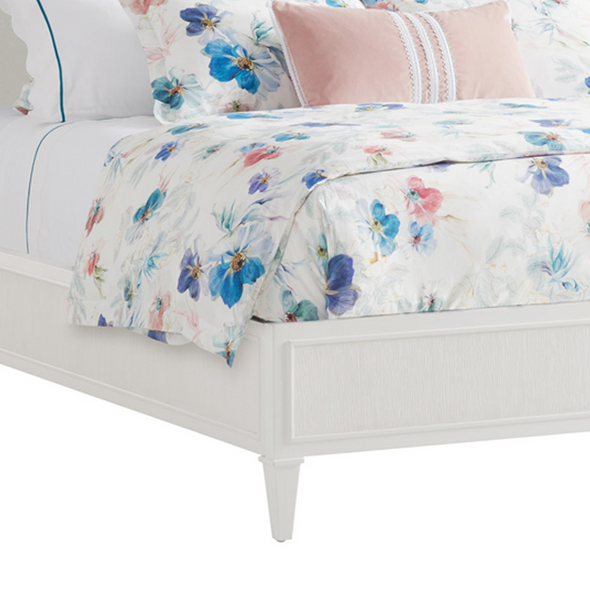 Marigold Bed, White Lacquer