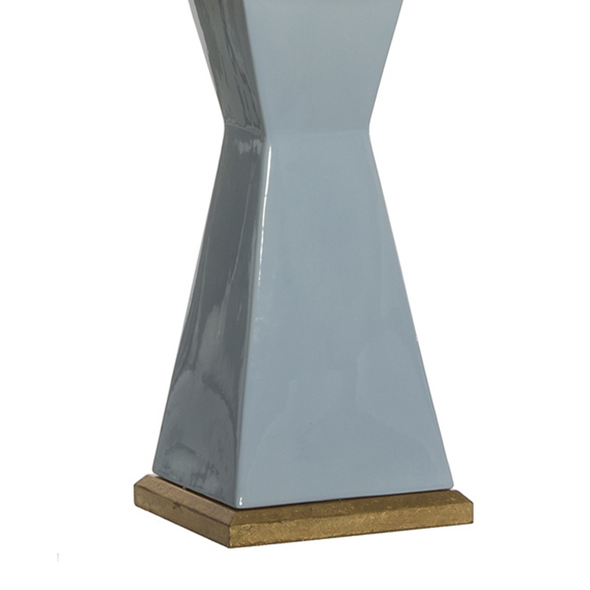 Meredith Table Lamp, Light Blue