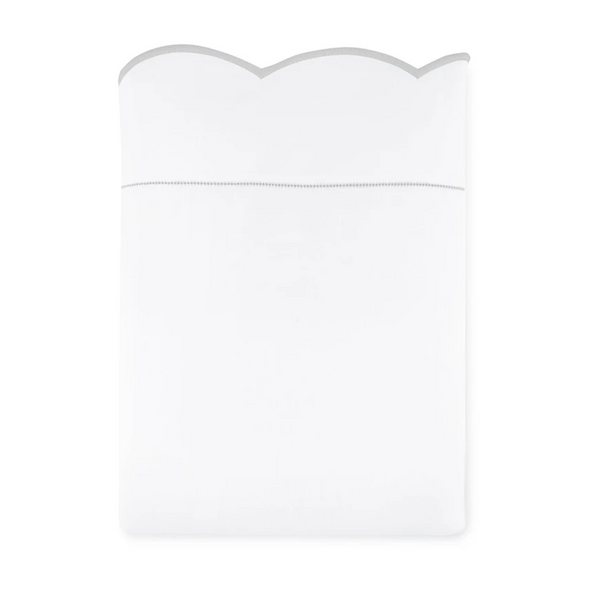 Positano Embroidered Flat Sheet